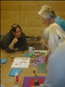 Glass Fusing at The Potters Barn