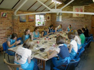 Pottery Parties at The Potters Barn