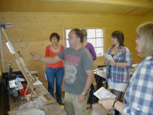 Painting at The Potters Barn
